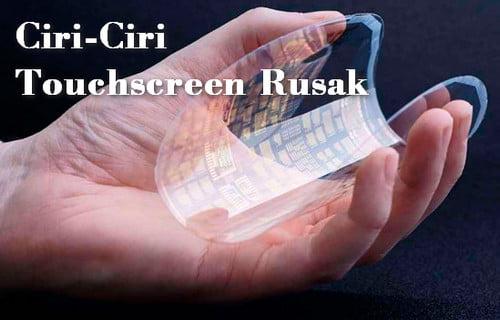 6 Ciri-Ciri Touchscreen Rusak dan Solusinya WAJIB TAHU