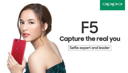 Spesifikasi Oppo F5 Beserta Harganya