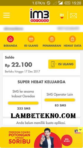 3 Cara Cek Kuota Indosat Ooredoo 4G dan Masa Aktif Terbaru