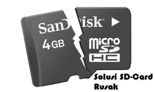 3 Cara Mengatasi Kartu SD Rusak di Android Format/Tanpa Format