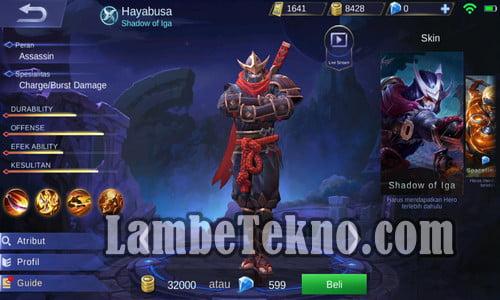 hero mobile legend terbaik