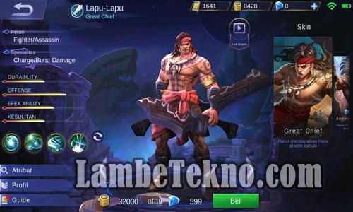 HERO Mobile Legend Baru dan TERKUAT dan Skillnya Terbaru 2021