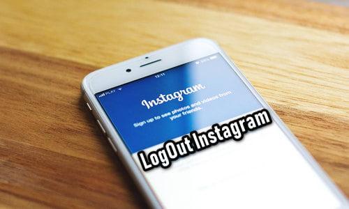 Cara Logout Instagram dari Hp Kamu Terbaru 2018 CUKUP 2 MENIT