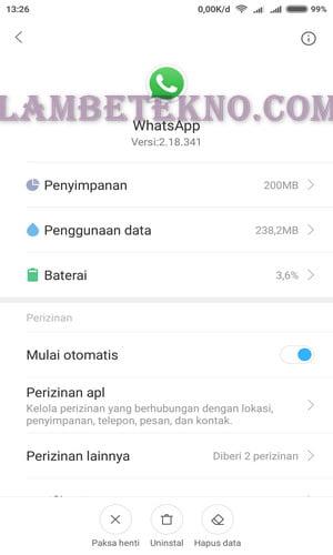 cara logout whatsapp di hp yang hilang