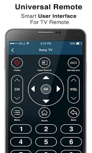 Aplikasi Remote TV Android Control Semua TV