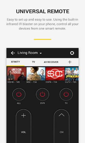aplikasi remot tv offline