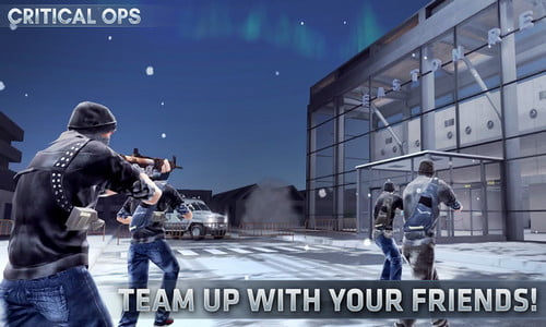 Game Perang Online Critical Ops