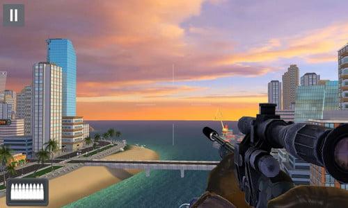 Game Sniper Offline 3D Gun Shooter