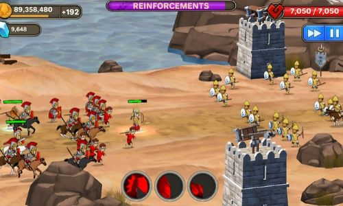 Grow Empire Rome - Game Strategi Android