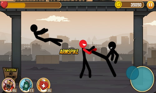 Stickman Game Ringan Offline Android