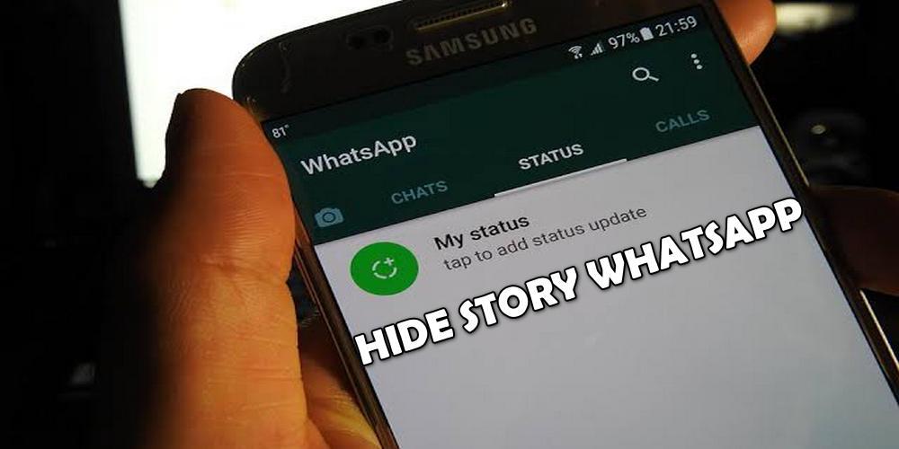 Cara Menyembunyikan Status WA Pada Orang Tertentu (Tanpa Ketahuan)