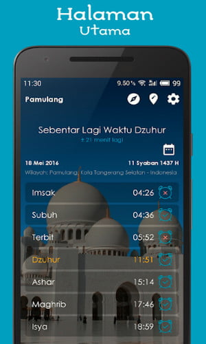 17 Aplikasi Adzan Android Terbaik (Pengingat Sholat 5 Waktu) 2020