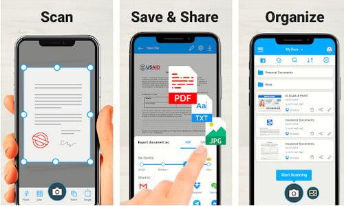 Aplikasi Scan Dokumen di Hp