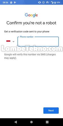 Cara Membuat Akun Gmail Tanpa No Hp di Android (WORK 100%)
