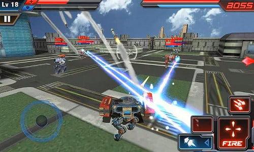 Pertempuran Robot 3D