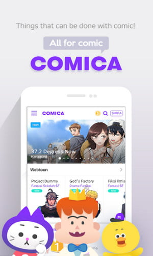 COMICA - Free Webtoon Comic
