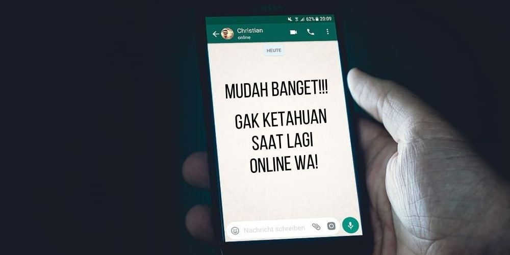 Cara Menyembunyikan Status Online di WA (Whatsapp) 2020