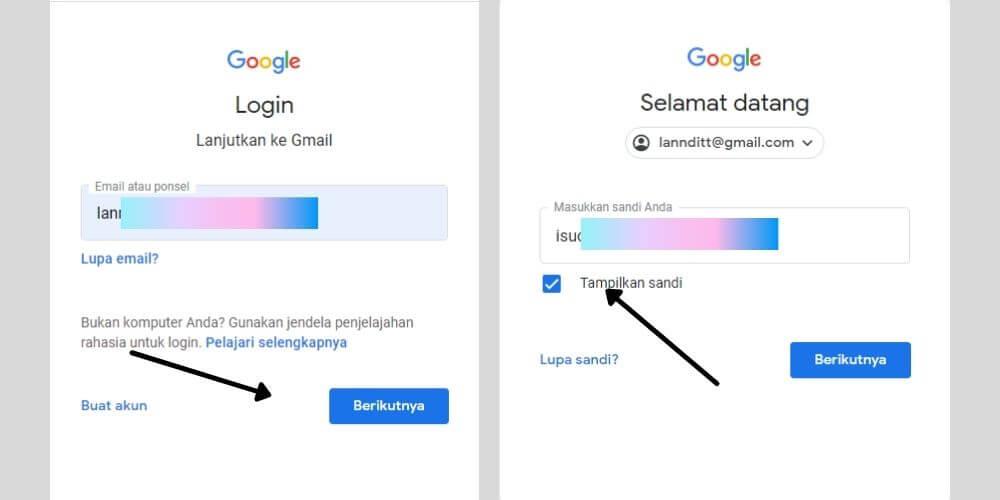 Cara Mengetahui Password Email Yang Lupa