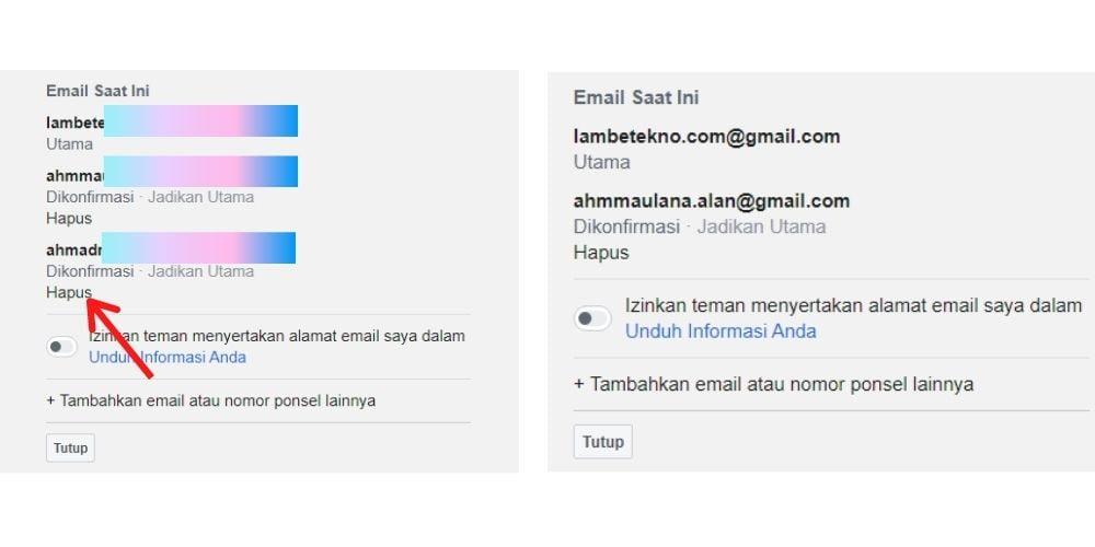Cara Mengganti Alamat Email Fb Terbaru